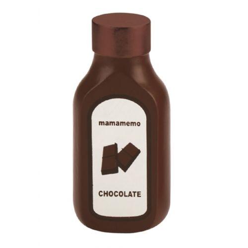 Mamamemo Chokoladesauce - legemad i træ