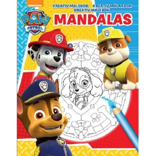 Mandalas Nickelodeon Paw Patrol - kreativ malebog - 48 sider