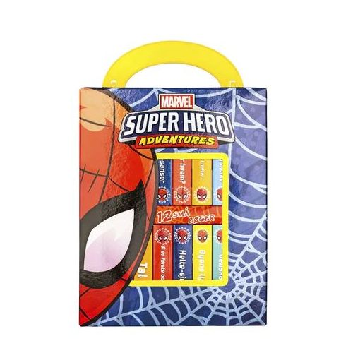 Marvel Super Hero Adventures - Mit første bibliotek - Papbog