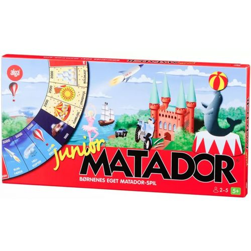 Matador Junior - brætspil fra Alga