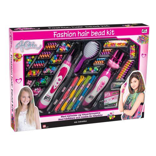 4-Girlz Mega Beader sæt - til håret