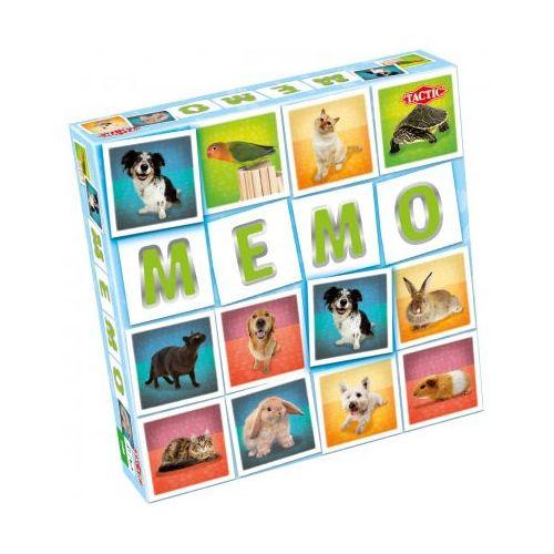 Memo spil med Kæledyr -Tactic