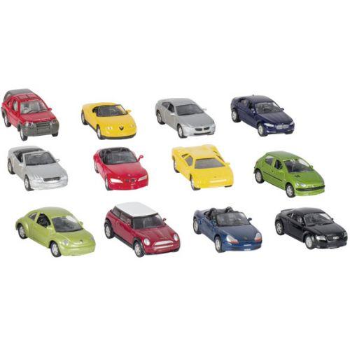 Goki Metalbil 1:60 - legetøjsbil - assorteret mærke