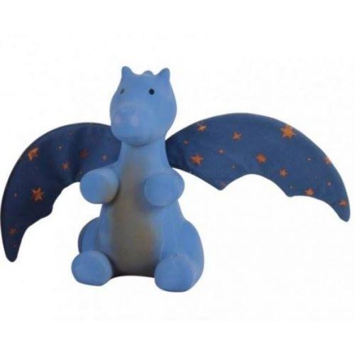 Tikiri Mid Night Dragon - Naturgummi dyr - bidedyr - i boks