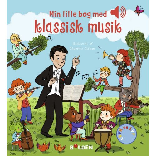 Min lille bog med klassisk musik – En bog med lyd
