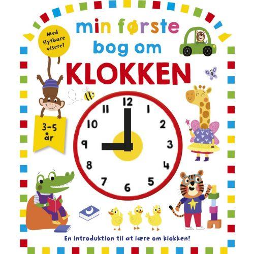 Min første bog om klokke - bog til børn
