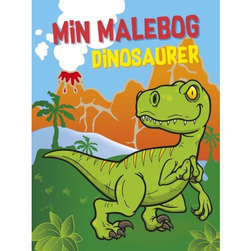 Min malebog: Dinosaurer - 96 sider