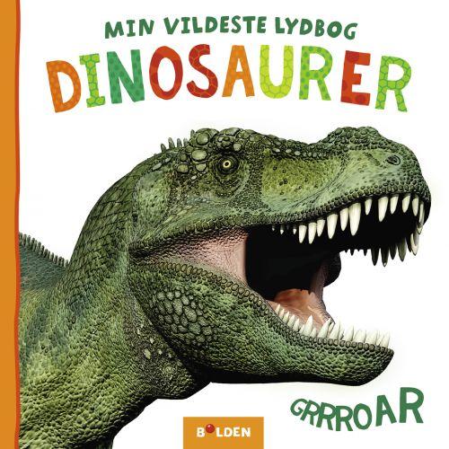 Min vildeste lydbog: Dinosaurer - Børnebog