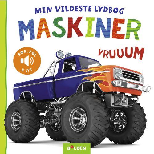 Min vildeste lydbog: Maskiner - Børnebog