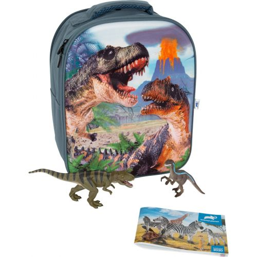 Animal Planet 3D Rygsæk m. dyr - Dinosaur