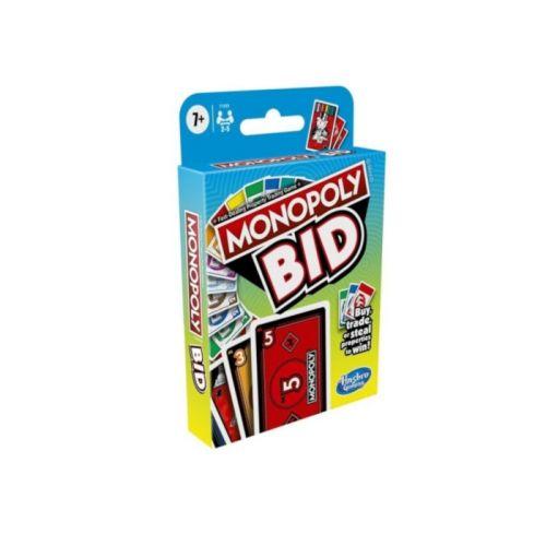 Monopoly Bid spil - DK - Hasbro