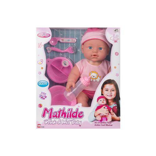 My Baby Mathilde Drikke og Tisse Dukke 30 cm