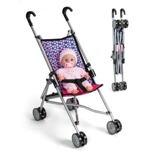 My Baby Paraplyklapvogn med sele og aftageligt betræk - 55 cm
