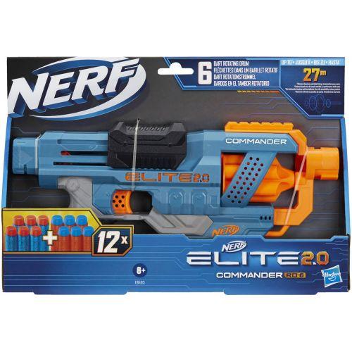 Nerf Elite 2.0 Commander  RD 6 - skyder 27 meter