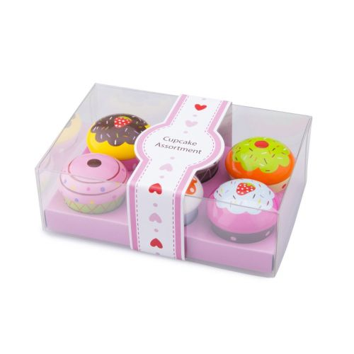 New Classic Toys Cupcakes i Træ