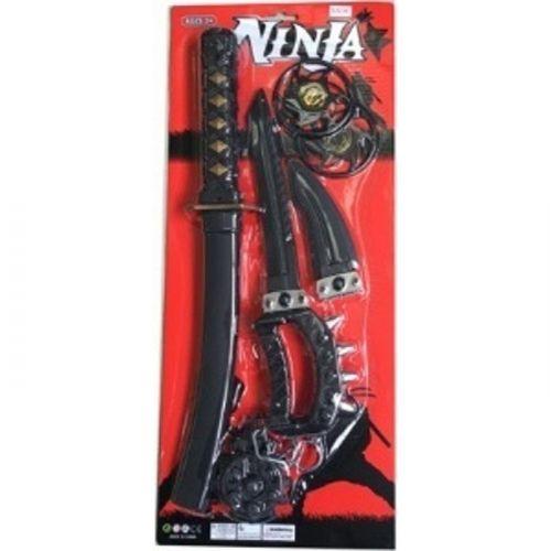 Ninja Våbensæt m. 5 dele