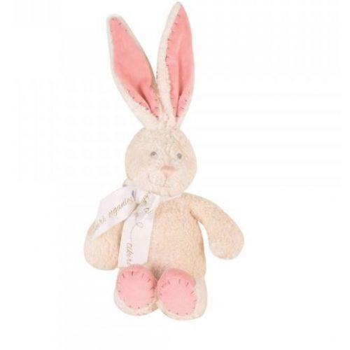 Tikiri Økologisk bamse - kanin - 18 cm.
