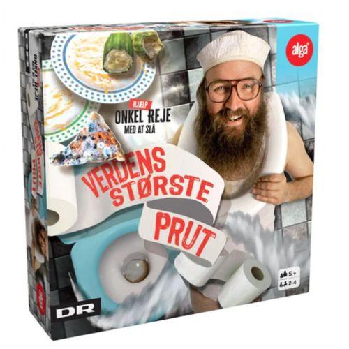 Verdens største prut med Onkel Reje - sjovt spil