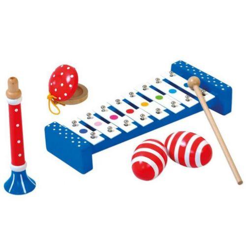 Bino Toys Orkester sæt - 4 dele