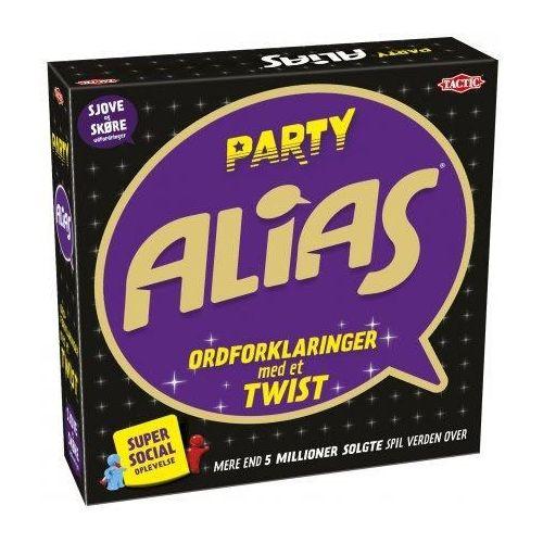 Party Alias - brætspil - Tactic