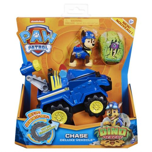 Paw Patrol - Dino Deluxe Vehicle Chase