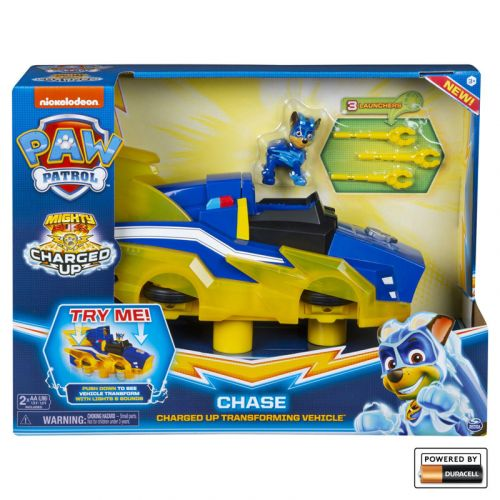 Paw Patrol Chaces Charged Up Deluxe Vehicle