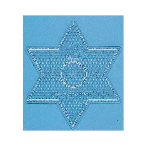 Perleplade, stor stjerne Transparent