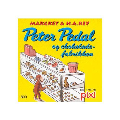 Peter Pedal og Chokoladefabrikken - Pixi bøger