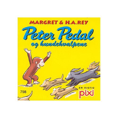 Peter Pedal og hundehvalpene - Pixi bøger