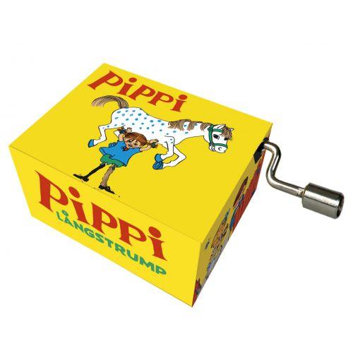 Pippi Langstrømpe Spilledåse - Her kommer Pippi Langstrømpe