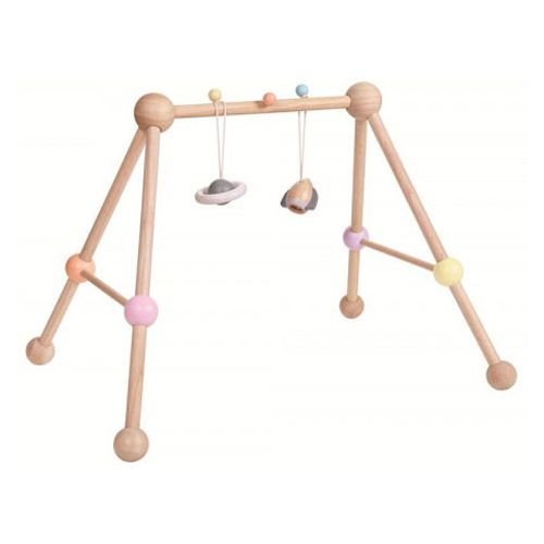 PlanToys Baby Gym - Aktivitetscenter Pastel