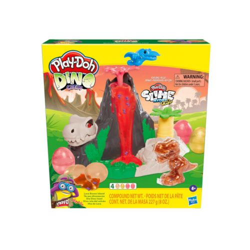 Play-Doh Dinosaur Lava Bones Island