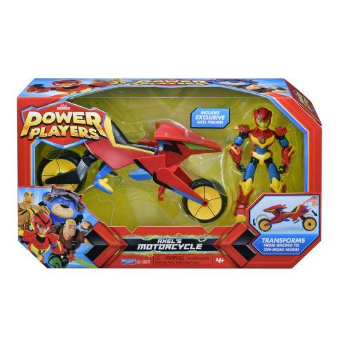 Power Players Axels Motorcykel m. Figur
