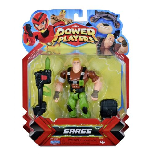 Power Players Basic Figur Sarge Charge