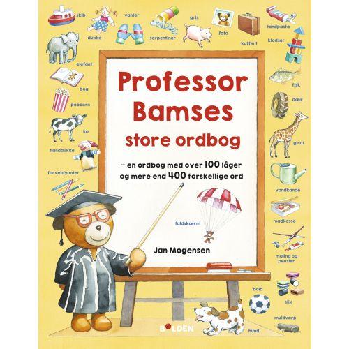 Professor Bamses store ordbog - Kigge-finde-pege-ordbog