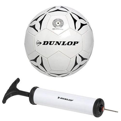 Dunlop Fodbold str. 5 med Pumpe