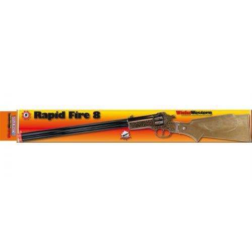 Rapid Fire 8-skuds Western Riffel -  71 cm