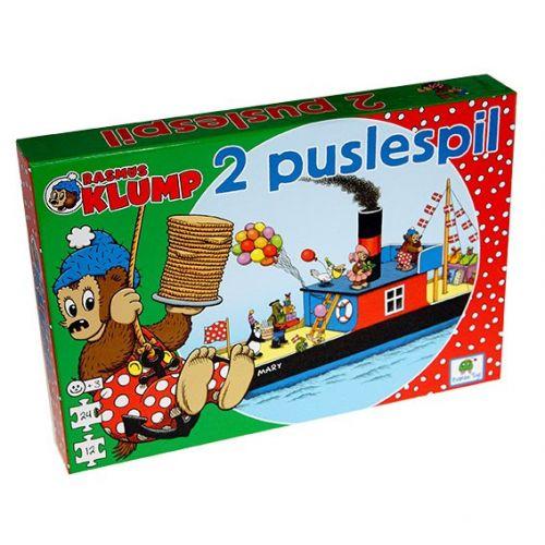 Rasmus Klump og vennerne - 2 Puslespil