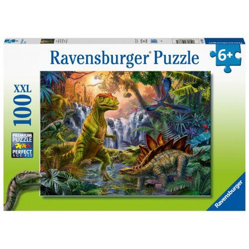 Ravensburger Dinosaur Puslespil - 100 brikker