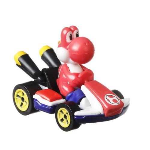 Hot Wheels - Mario Kart Replica Diecast 1:64 - Red Yoshi