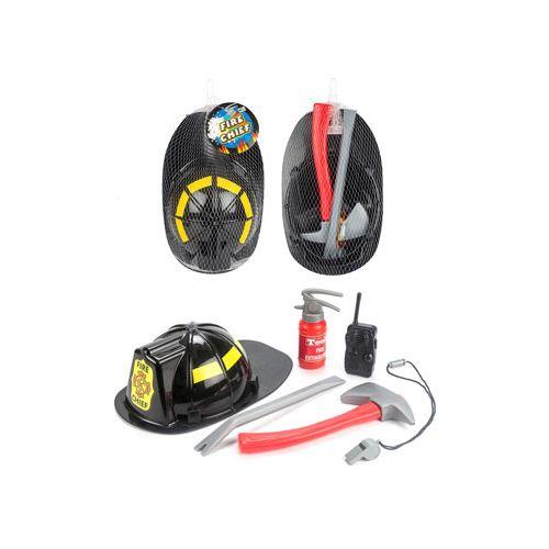 Rio Brandmandssæt m. hjelm, brandslukker, økse og fløjte