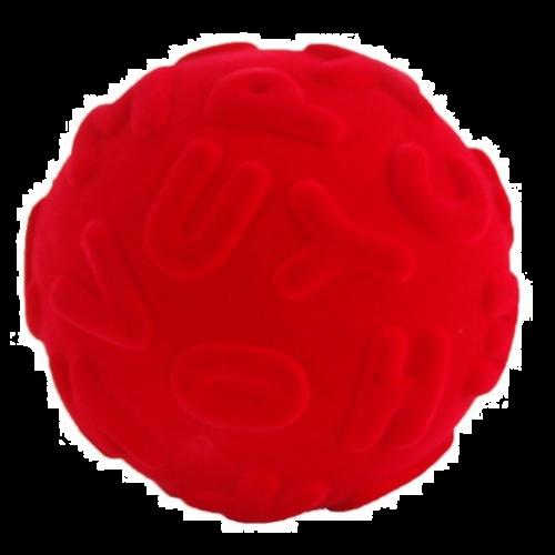 Rubbabu Bold Stor - Bogstav Bold - Rød Ø10
