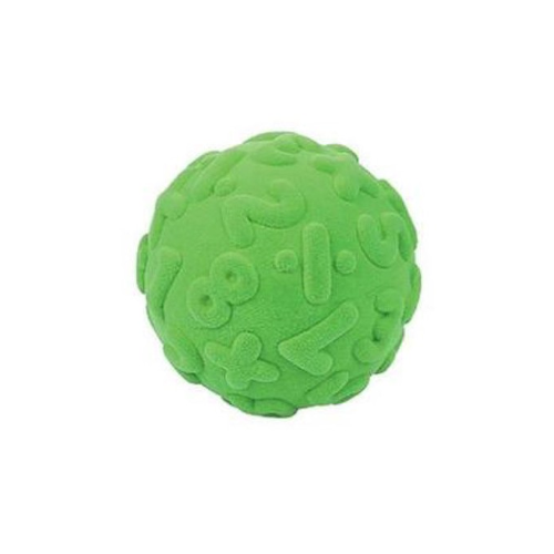 Rubbabu Bold Stor - Tal og Regne Bold - Grøn Ø10