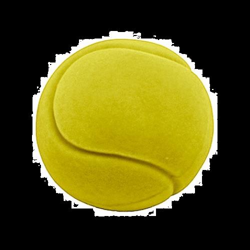 Rubbabu Bold Stor -Tennis ball Ø10 - Gul