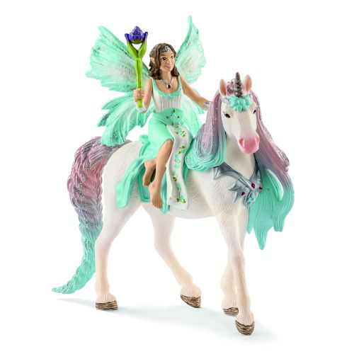 Schleich Bayala  Fe Eyela with princess unicorn