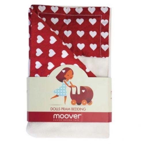 Sengetøj til Moover dukkevogn