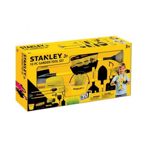 Stanley Jr. Havesæt m. 10 dele - inkl. spade og rive