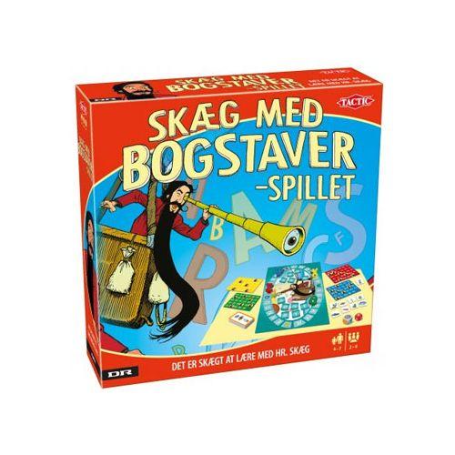Skæg med Bogstaver - DR Ramasjan brætspil