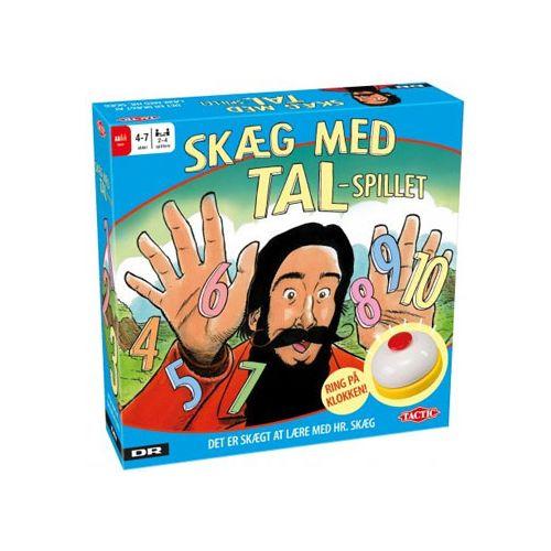 Skæg med Tal - DR Ramasjan brætspil