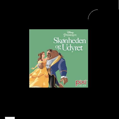 Disney - Skønheden og Udyret - Pixi bog